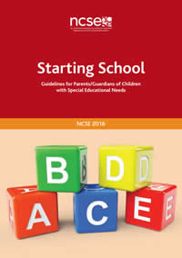 Starting School - Guidelines for Parents / Guardians of Children with Special Needs